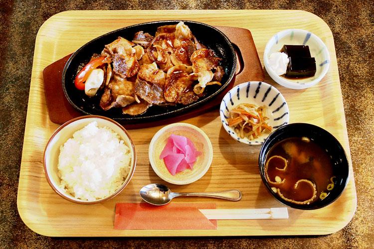 猪豚生姜焼き定食
